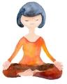 ヨガ 瞑想のポーズ