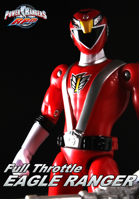POWER RANGERS RPM Full Throttle EAGLE RANGER(ゴーオンレッド)