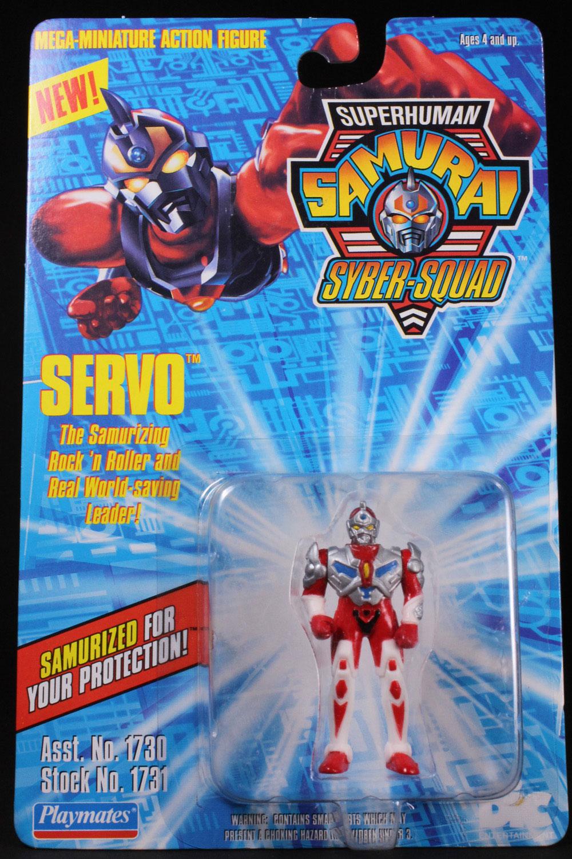 Super Human Samurai Syber-Squad SERVO