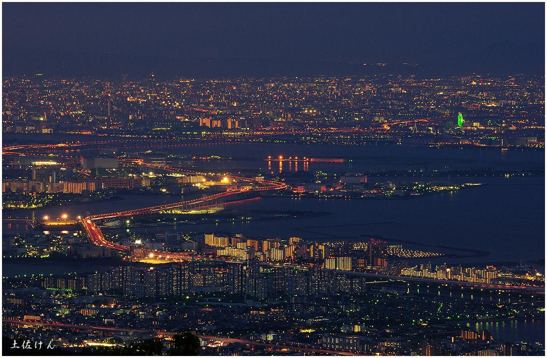 六甲からの夜景1