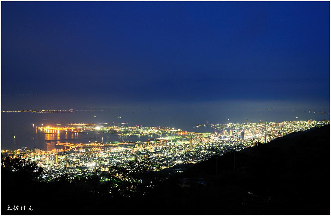 六甲からの夜景2