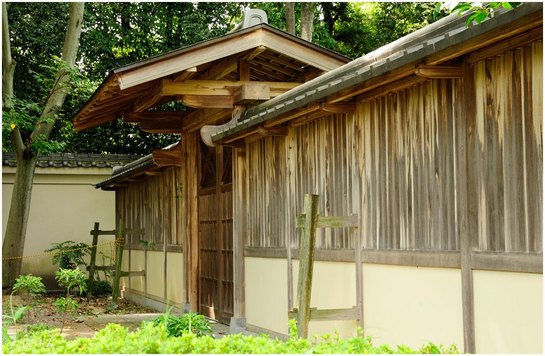 藤田邸跡公園から大阪城公園2