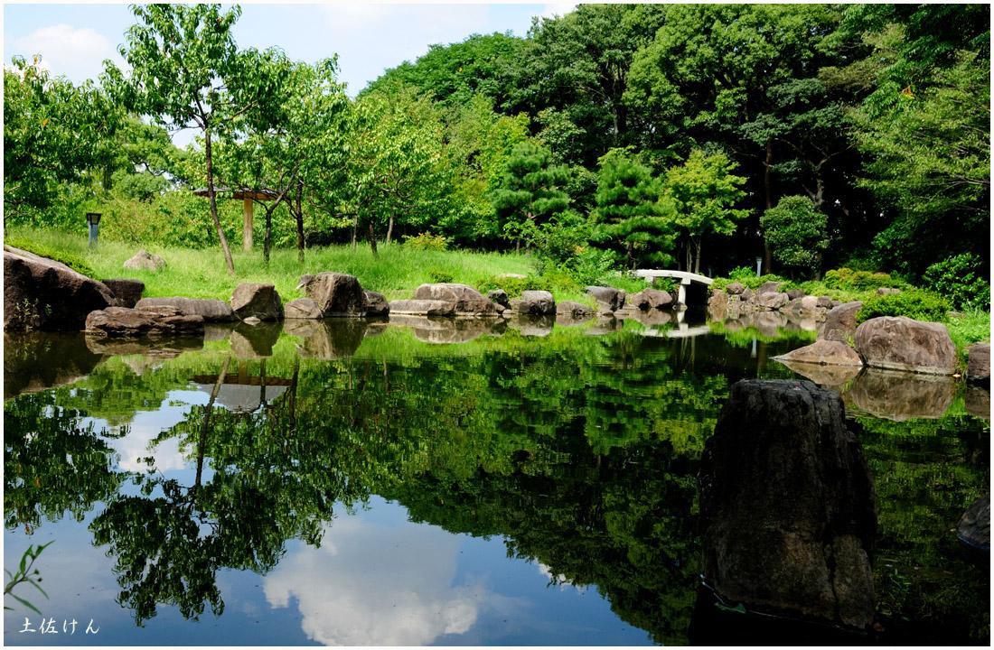 藤田邸跡公園から大阪城公園4