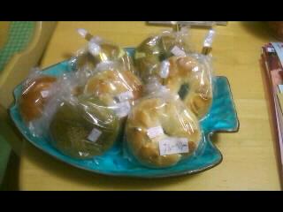 あんパンとベーグル数種