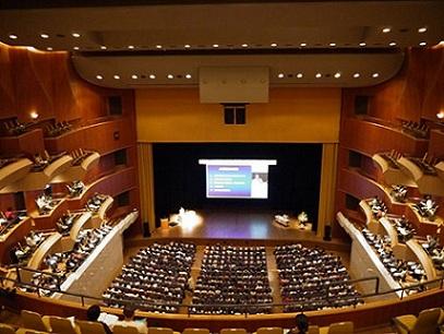 岡山の学会の写真