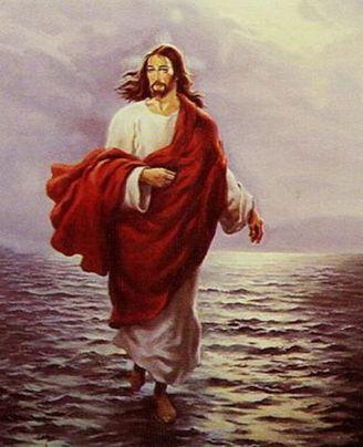 新約聖書の中でイエス・キリストが水の上を歩いたとされる