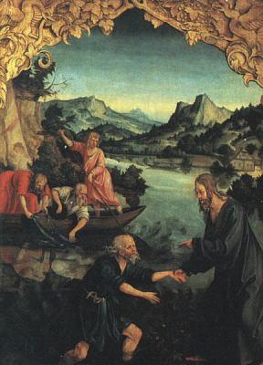 ガリラヤ地方、カフェナウム 魚でなく人の心を得なさい、と教えたイエス